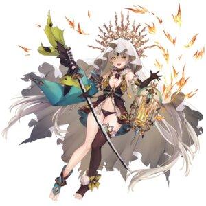 Rating: Questionable Score: 25 Tags: cleavage feet no_bra pantsu ryuuji_teitoku sword torn_clothes weapon User: whitespace1