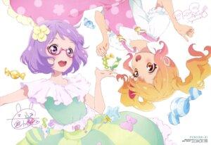 Rating: Questionable Score: 22 Tags: aikatsu! aikatsu_stars! aikei_yukiko autographed dress megane nanakura_koharu nijino_yume User: drop