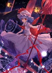 Rating: Safe Score: 32 Tags: lota remilia_scarlet touhou weapon wings User: Mr_GT
