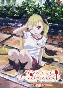 Rating: Safe Score: 19 Tags: dance_in_the_vampire_bund disc_cover gym_uniform konno_naoyuki mina_tepes User: Onpu