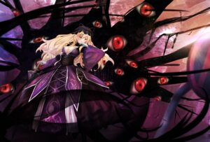 Rating: Safe Score: 24 Tags: cleavage dress no_bra touhou untsue yakumo_yukari User: Mr_GT