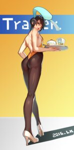 Rating: Safe Score: 51 Tags: animal_ears ass bunny_ears bunny_girl heels lolik no_bra nopan overwatch pantyhose tracer User: Mr_GT