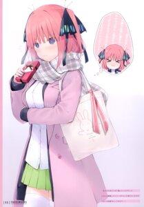 Rating: Safe Score: 20 Tags: 5-toubun_no_hanayome 6u chibi nakano_nino seifuku sweater thighhighs valentine User: kiyoe