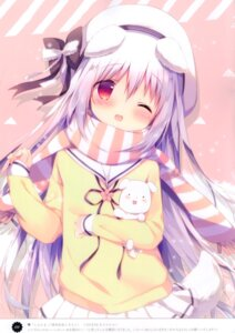 Rating: Safe Score: 43 Tags: animal_ears seifuku shiratama shiratamaco shiroi_inu sweater tail User: kiyoe