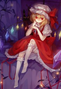 Rating: Safe Score: 27 Tags: bloomers devil dhiea dress flandre_scarlet lolita_fashion moe_shoujo_ryouiki touhou wings User: fireattack