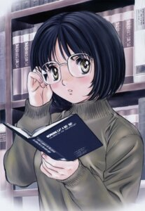 Rating: Safe Score: 10 Tags: kobayashi_hiyoko megane okusama_wa_joshi_kosei onohara_asami scanning_resolution User: Wraith