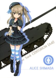 Rating: Safe Score: 29 Tags: dress girls_und_panzer shimada_arisu silhouette thighhighs User: drop