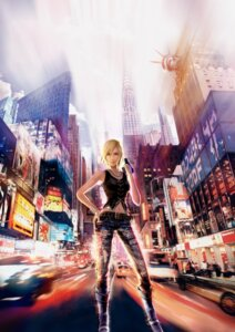 Rating: Safe Score: 20 Tags: aya_brea cg gun landscape parasite_eve square_enix the_3rd_birthday torn_clothes User: Radioactive