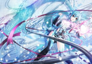 Rating: Safe Score: 29 Tags: hatsune_miku miku_append nisson vocaloid vocaloid_append User: charunetra