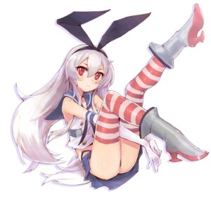 Rating: Questionable Score: 72 Tags: angelo1106 kantai_collection pantsu shimakaze_(kancolle) thighhighs User: tbchyu001
