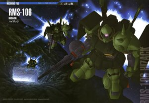 Rating: Safe Score: 8 Tags: gundam hi_zack mecha ueda_youichi zeta_gundam User: Radioactive