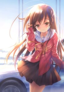 Rating: Safe Score: 64 Tags: goto-p narcissu sakura_setsumi seifuku User: fireattack