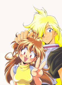 Rating: Safe Score: 5 Tags: araizumi_rui gourry_gabriev lina_inverse slayers User: minakomel