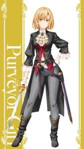 Rating: Questionable Score: 16 Tags: goblin_slayer heels kannatsuki_noboru sword User: kiyoe