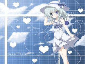 Rating: Safe Score: 22 Tags: dress komeiji_koishi miyupon summer_dress touhou wallpaper User: tbchyu001