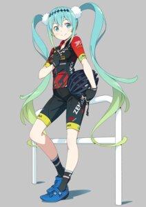 Rating: Safe Score: 36 Tags: hatsune_miku kanzaki_hiro racing_miku vocaloid User: saemonnokami