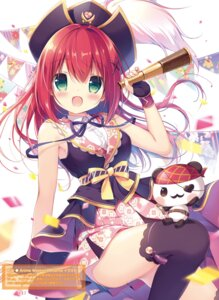 Rating: Questionable Score: 29 Tags: canvas+garden miyasaka_nako pirate thighhighs User: Twinsenzw