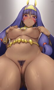Rating: Explicit Score: 59 Tags: animal_ears bottomless breasts bunny_ears fate/grand_order nipples nitocris_(fate/grand_order) no_bra pubic_hair pussy rosaline shirt_lift uncensored undressing User: BattlequeenYume