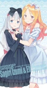 Rating: Safe Score: 23 Tags: dress eromanga-sensei gothic_lolita izumi_sagiri kanzaki_hiro lolita_fashion pointy_ears see_through summer_dress yamada_elf User: kiyoe