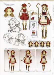 Rating: Safe Score: 8 Tags: atelier atelier_ayesha bloomers character_design dress expression hidari nanaca_grunden User: Shuumatsu