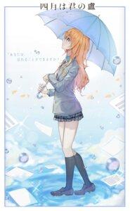 Rating: Safe Score: 17 Tags: miyazono_kaori seifuku shigatsu_wa_kimi_no_uso sibuta umbrella User: Spidey