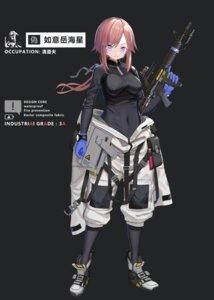 Rating: Safe Score: 11 Tags: bodysuit erect_nipples gun hamachi_hazuki User: Dreista