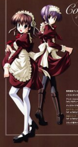 Rating: Safe Score: 20 Tags: ef_~a_fairytale_of_the_two~ maid miyamura_miyako nanao_naru shindou_kei User: admin2