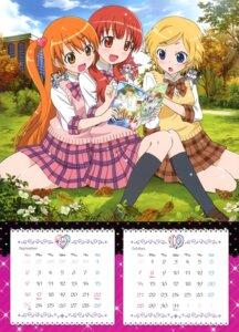 Rating: Safe Score: 11 Tags: amamiya_rizumu calendar harune_aira pretty_rhythm seifuku takamine_mion User: crim