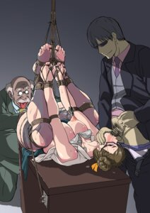 Rating: Explicit Score: 14 Tags: bondage bra breasts business_suit chun_li cum feet gangbang makinaru megane nipples open_shirt pantsu panty_pull pantyhose penis street_fighter torn_clothes User: Saturn_V