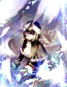 Rating: Safe Score: 37 Tags: beatmania beatmania_iidx rche shion_(mamuring) thighhighs trap wings User: Mr_GT