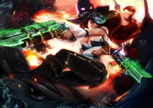 Rating: Safe Score: 34 Tags: cleavage gun league_of_legends miss_fortune tagme User: charunetra