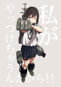 Rating: Safe Score: 30 Tags: fubuki_(kancolle) kantai_collection kinosuke seifuku weapon User: nphuongsun93