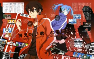 Rating: Safe Score: 10 Tags: enomoto_takane kagerou_project kisaragi_shintarou mekakucity_actors thighhighs User: drop