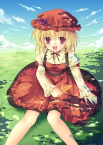 Rating: Safe Score: 21 Tags: aki_minoriko dress hanahanamaki touhou User: fireattack
