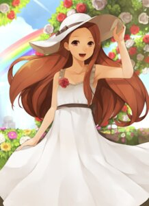 Rating: Safe Score: 33 Tags: dress hitoto minase_iori summer_dress the_idolm@ster User: Riven