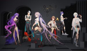 Rating: Safe Score: 14 Tags: animal_ears dress garter heels horns luo_tianyi no_bra see_through tagme thighhighs tidsean torn_clothes vocaloid weapon User: BattlequeenYume
