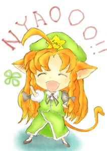 Rating: Safe Score: 6 Tags: amanojaku animal_ears chibi hong_meiling nekomimi touhou User: konstargirl