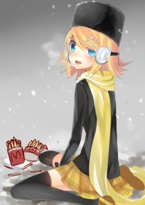 Rating: Safe Score: 14 Tags: kagamine_rin temari_(artist) thighhighs vocaloid User: mahoru