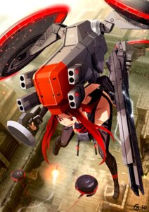 Rating: Safe Score: 21 Tags: bail chrysalid mecha_musume metal_gear_solid_peace_walker thighhighs User: fireattack