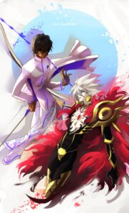 Rating: Safe Score: 3 Tags: arjuna_(fate/grand_order) fate/grand_order karna_(fate) male mj_(cuzbien) User: charunetra
