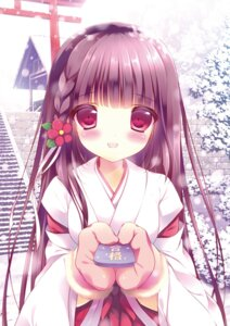 Rating: Questionable Score: 31 Tags: digital_version miko shiratama User: Twinsenzw