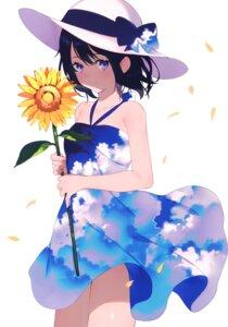 Rating: Safe Score: 27 Tags: achiki dress skirt_lift summer_dress User: kiyoe