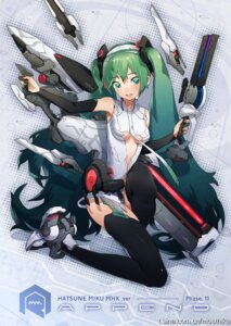Rating: Safe Score: 23 Tags: gun hatsune_miku mhk miku_append sword thighhighs vocaloid User: hobbito