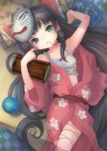 Rating: Safe Score: 36 Tags: hakurei_reimu sanntouhei touhou yukata User: Radioactive