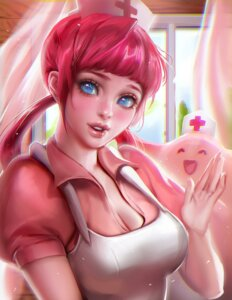 Rating: Questionable Score: 37 Tags: breasts cleavage nurse nurse_joy pokemon sakimichan User: sylver650