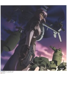 Rating: Safe Score: 3 Tags: ghost_in_the_shell gun mecha nishio_tetsuya User: Radioactive