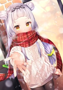 Rating: Safe Score: 34 Tags: hololive murasaki_shion nari_(narikashi) pantyhose sweater User: yanis