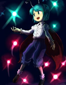 Rating: Safe Score: 2 Tags: hokuyoo touhou wriggle_nightbug User: konstargirl