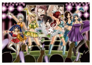 Rating: Safe Score: 29 Tags: cana_alberona cleavage dress erza_scarlet fairy_tail juvia_loxar lisanna_strauss lucy_heartfilia mashima_hiro thighhighs wendy_marvell User: Radioactive