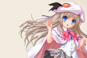 Rating: Safe Score: 13 Tags: key kud_wafter little_busters! na-ga noumi_kudryavka seifuku skirt_lift User: marechal